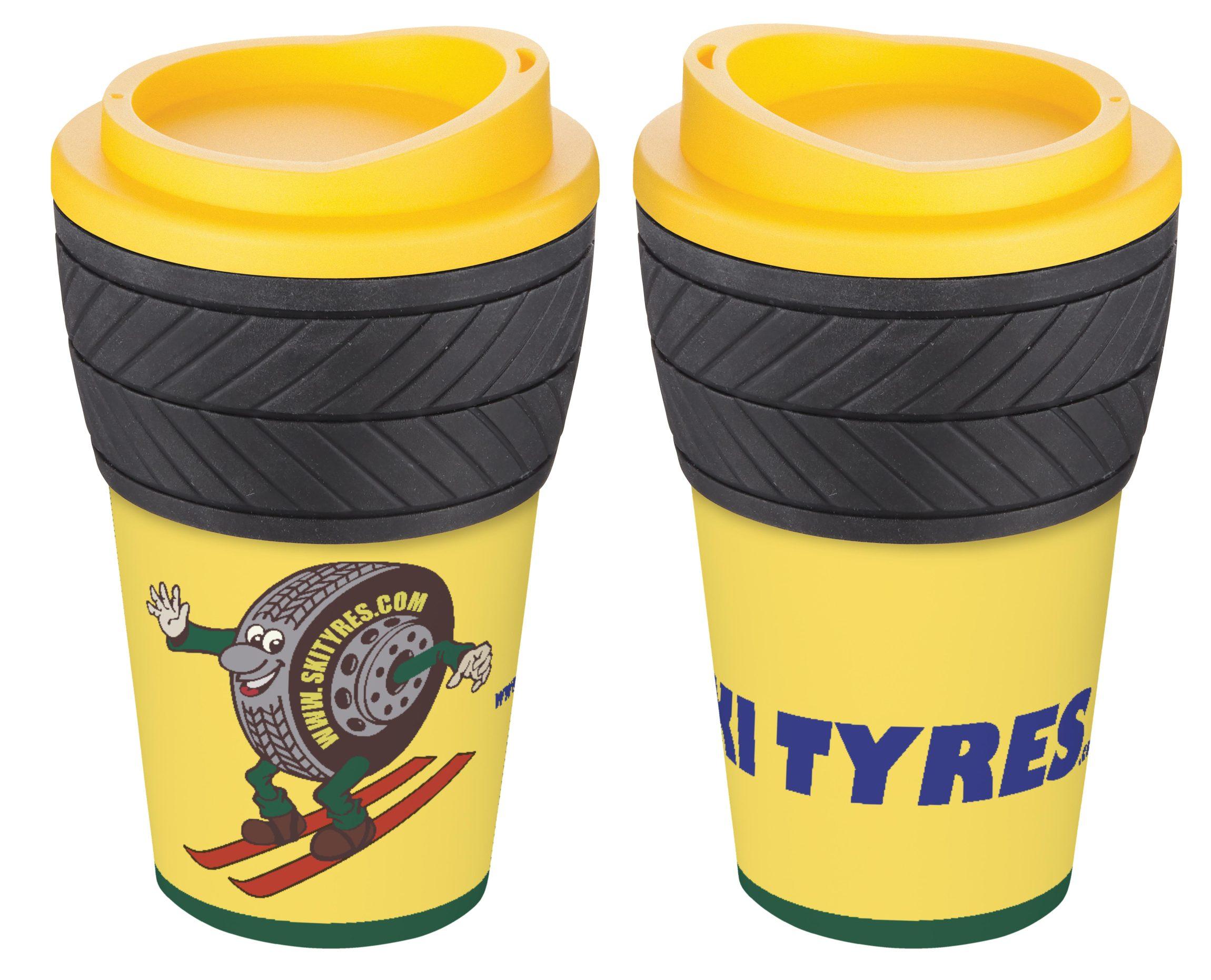 Branded transport company mugs