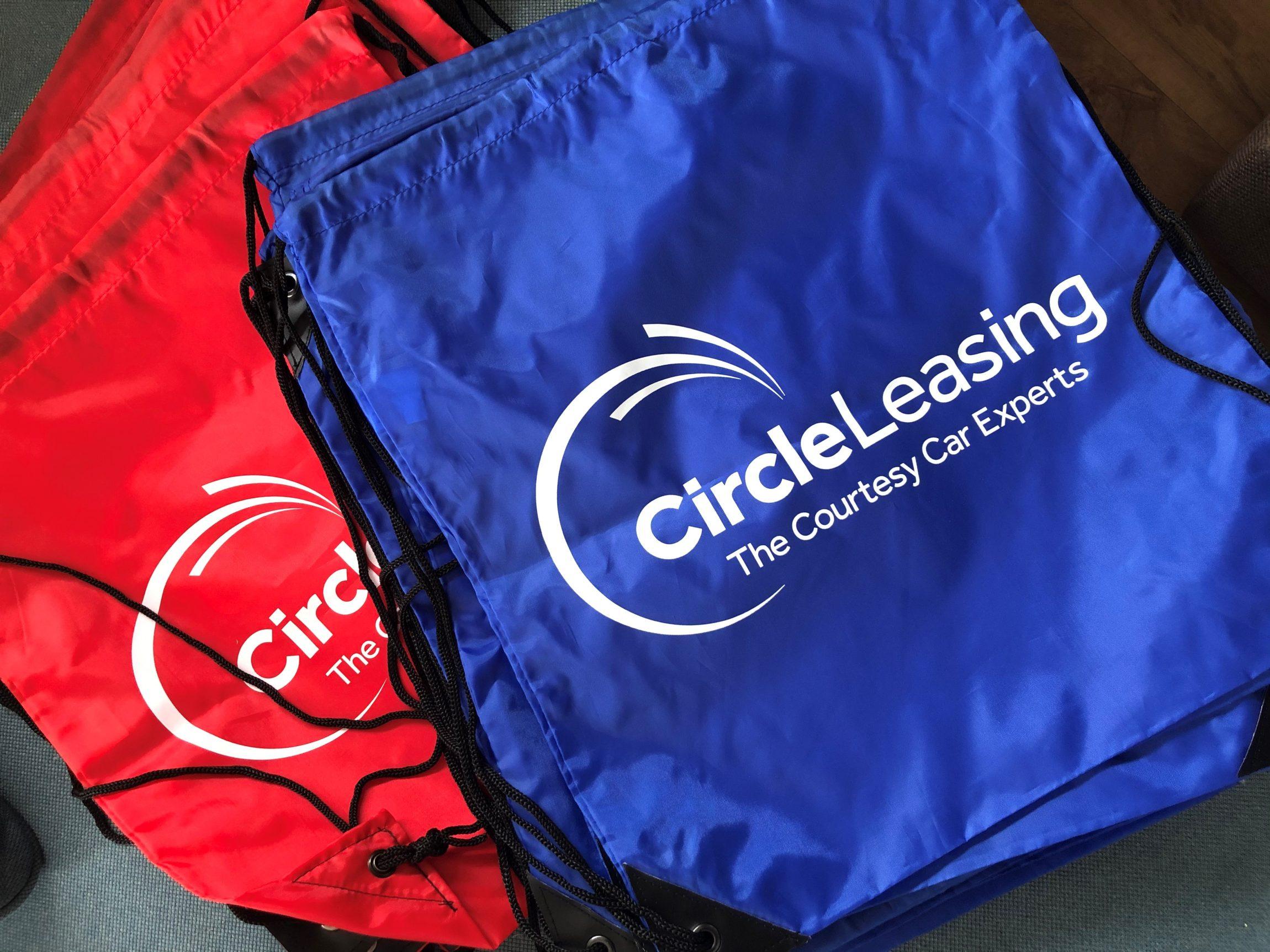 Branded drawstring rucksack