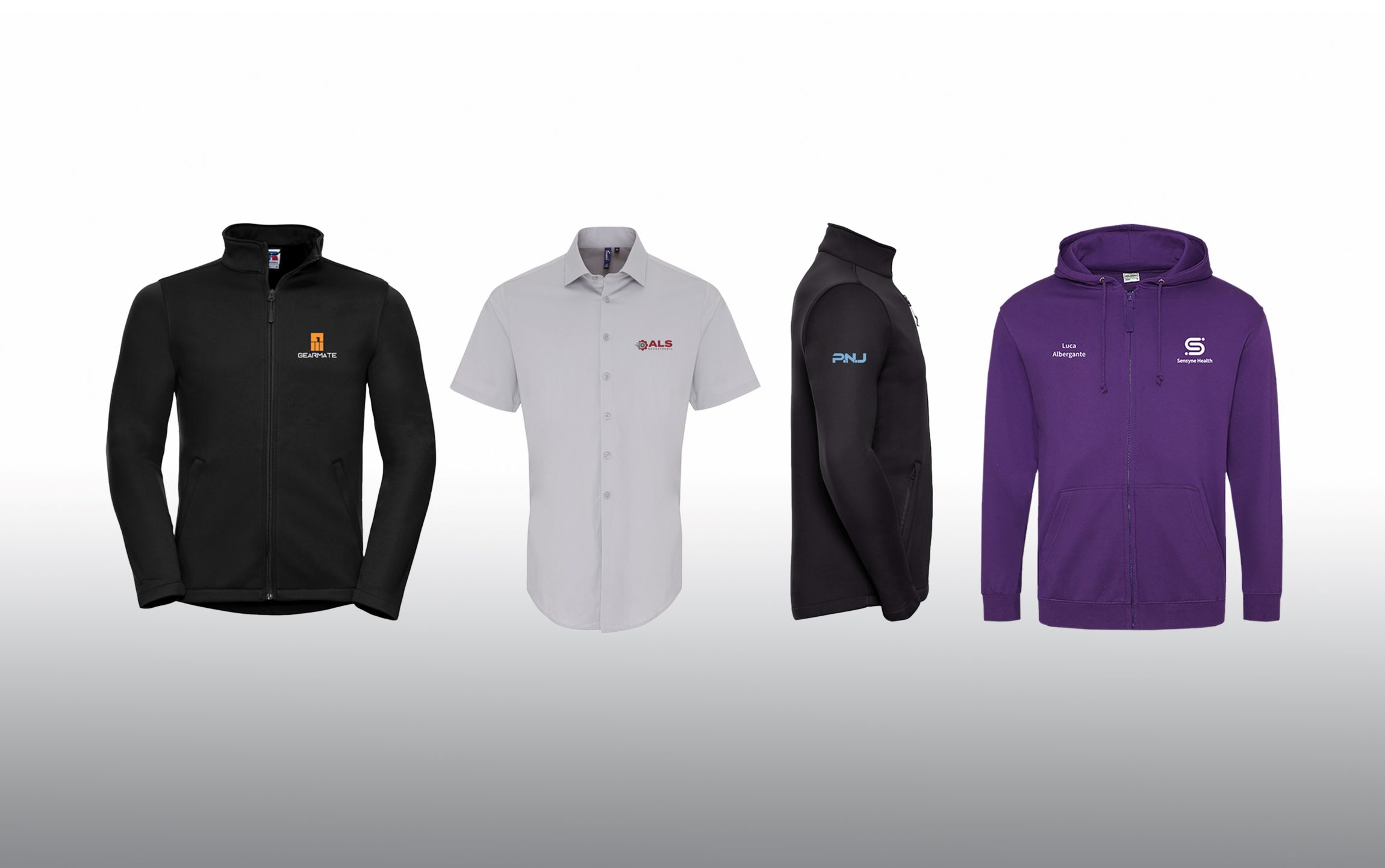 branded uniform shirts Marketing and Merchandise sweatshirts
